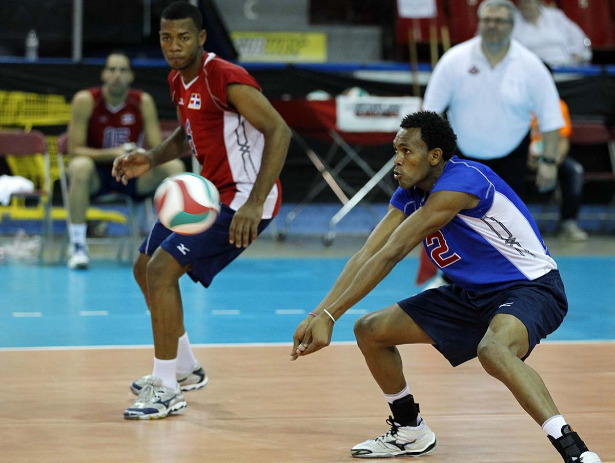 game and volleyball Volleyball is a team sport played by two teams on a playing court divided by a net the sport originated in the united states, and is now just achieving the type of.