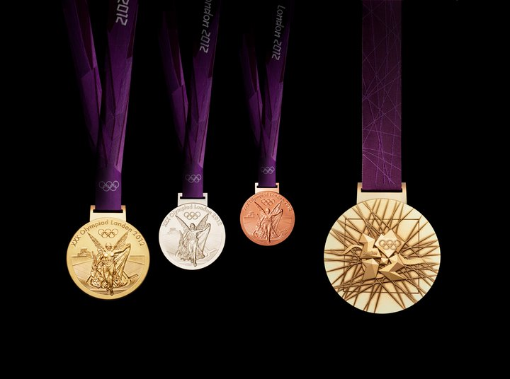 london 2012 Olympic medals The 2012 Olympic Medals