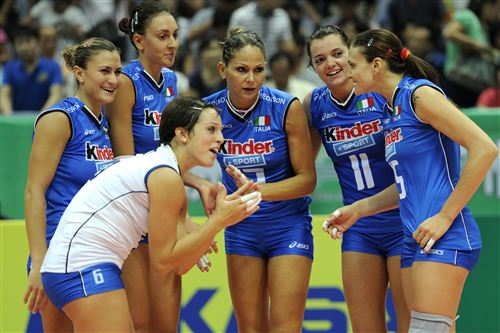 Volleyball Italien