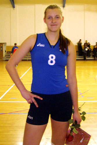 Nelly Fonova Alisheva Worlds Tallest Female Volleyball Player
