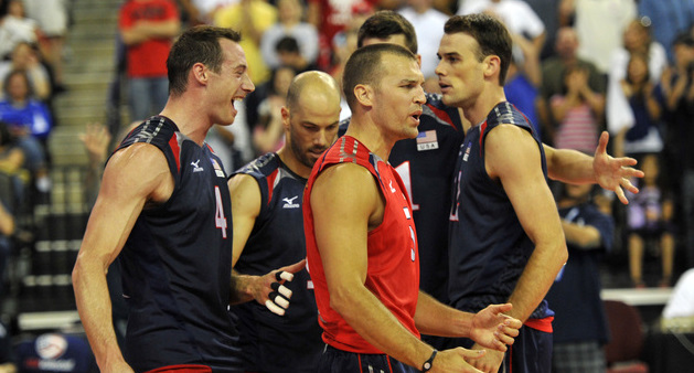 VOLLEYBALL: World League-Poland at USA