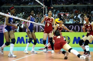 hui ruoqi china volleyball 300x199 2012 World Grand Prix