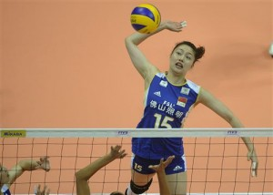ma yun wen china volleyball 300x214 2012 World Grand Prix