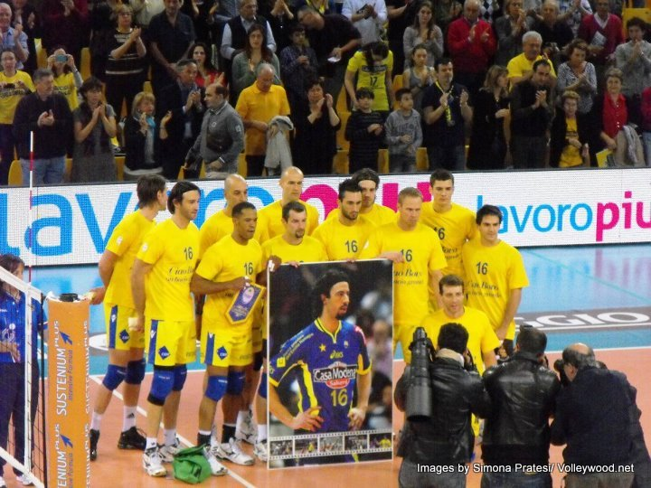 Italy volleyball player news rest in peace vigor bovolenta for Casa modena volley