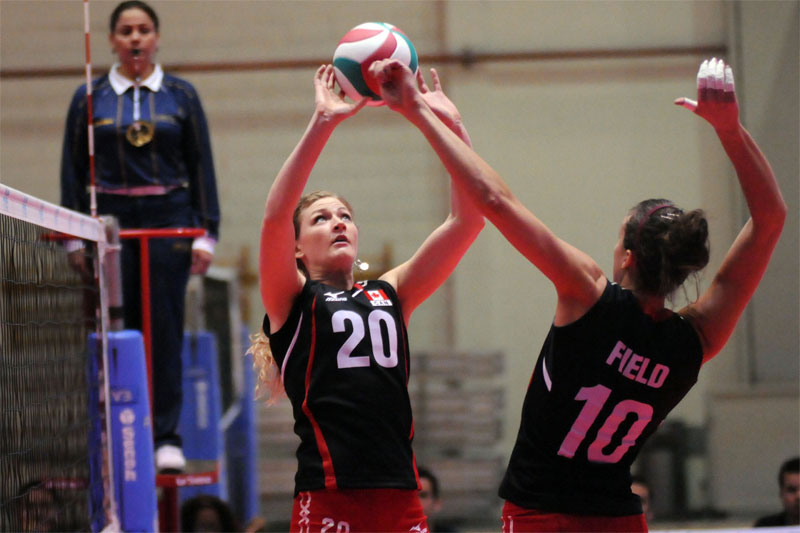 canada volleyball Dominican Rep. To London
