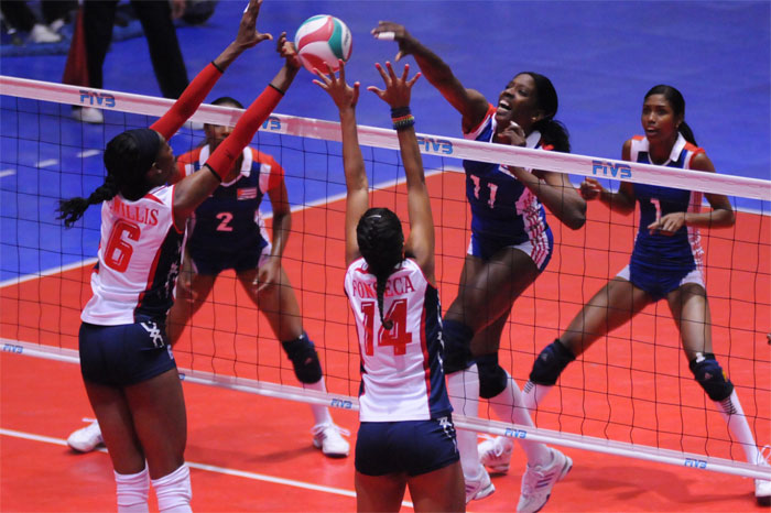 cuba volleyball Dominican Rep. To London