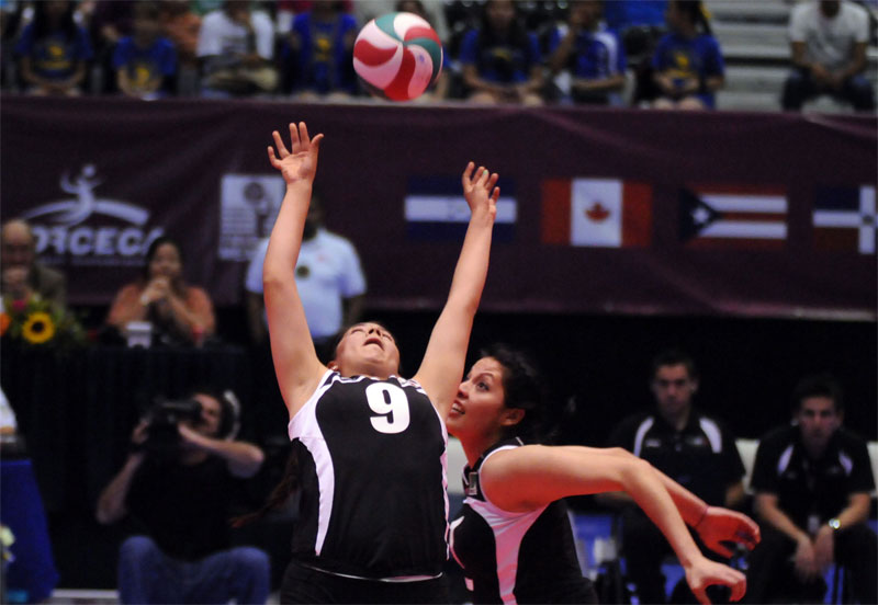 mexcico volleyball Dominican Rep. To London