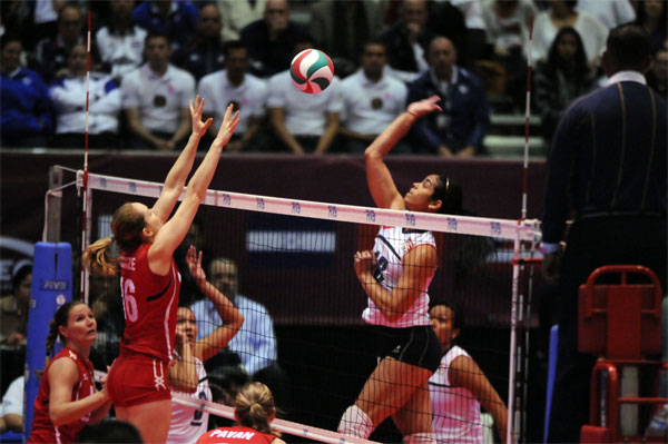 norceca volleyball 2 Dominican Rep. To London