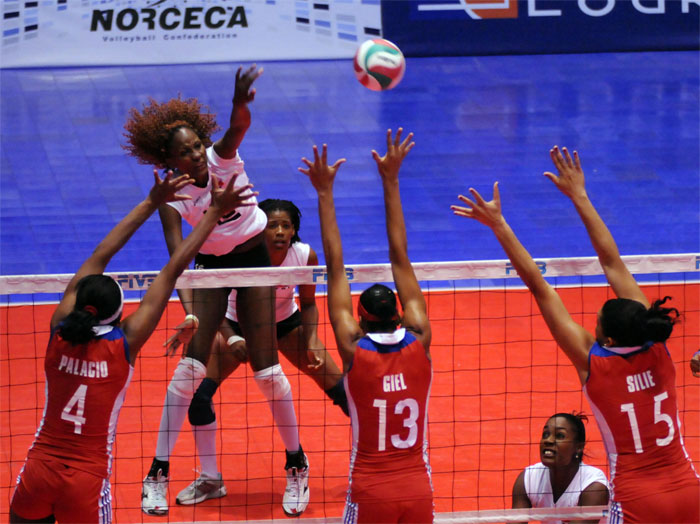 norceca volleyball 3 Dominican Rep. To London