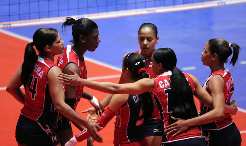 norceca volleyball 4 Dominican Rep. To London