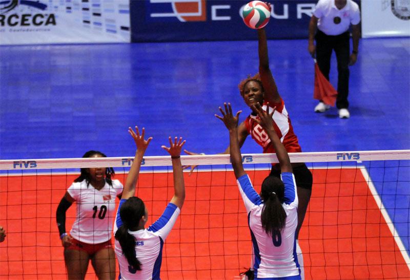 Trinidad and Tobago volleyball players