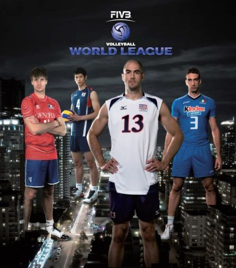 2012 fivb world league USA poster 2012 World League