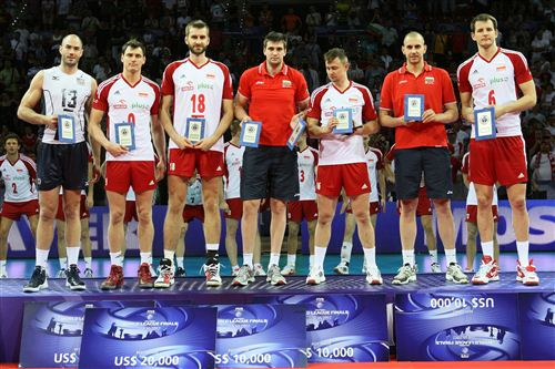 2012 fivb world league best players 2012 World League
