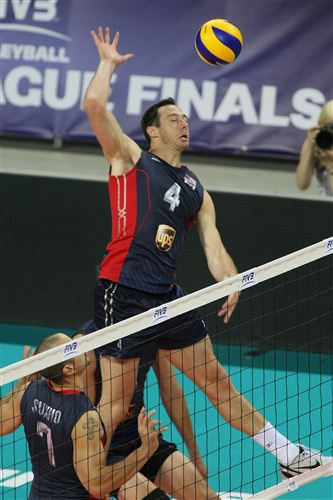 david lee volleyball 2012 World League