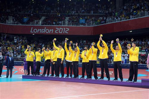 Brazil Volleyball 2012 London Olympics 2 2012 Olympics Indoor Volleyball