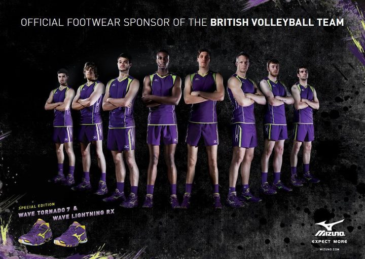 Volleyball Team Posters Volleyball Mizuno Team gb