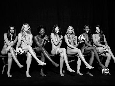 usa womens volleyball ESPN Body Issue ESPN Body