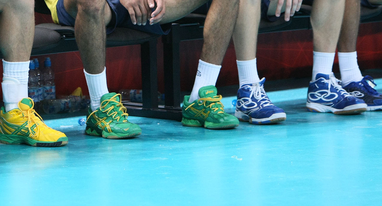 brazil mens volleyball olympic shoes 2