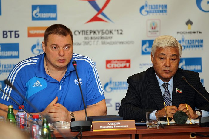 coach alekno zenit kazan The Boys of Zenit Kazan