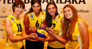 vakifbank gunes turkey volleyball