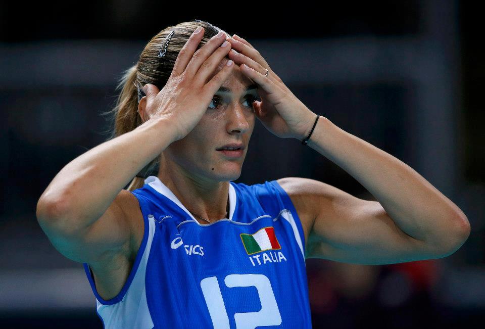 Volleyball player francesca piccinini consider