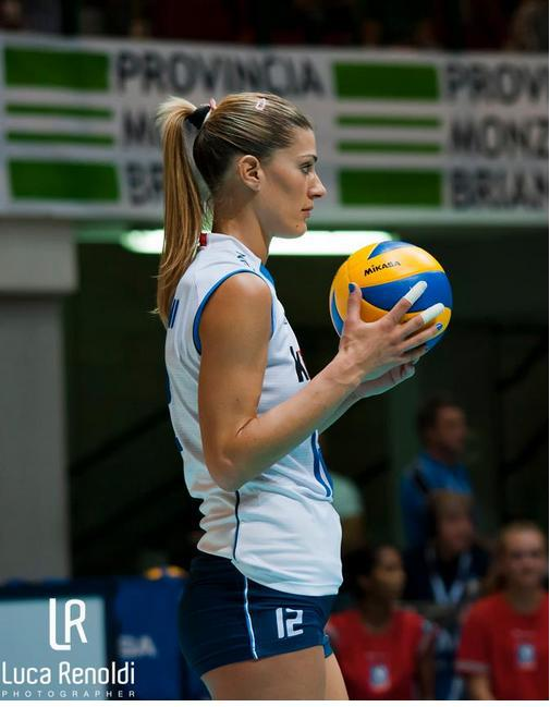 Opinion Volleyball player francesca piccinini