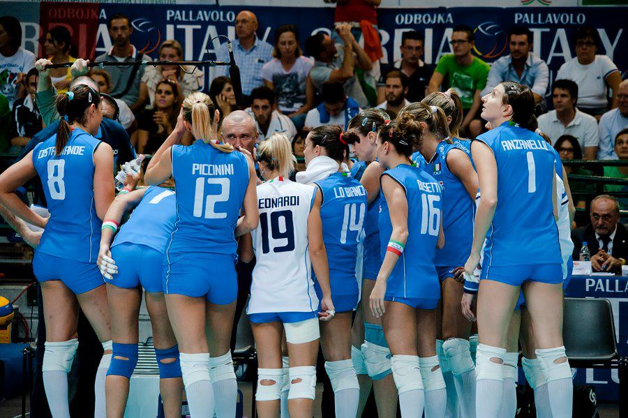 Volleyball player francesca piccinini mine