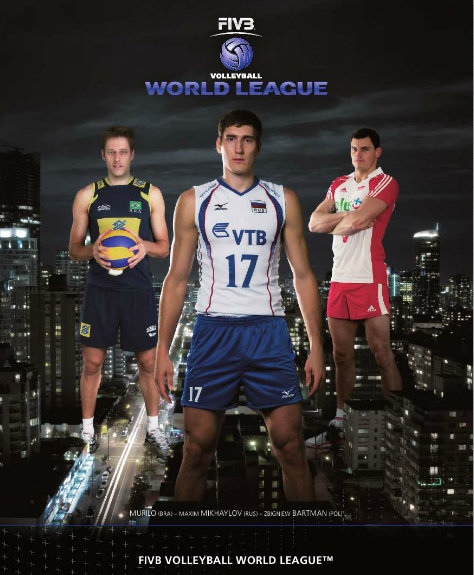 2013 fivb world league poster 2013 FIVB World League