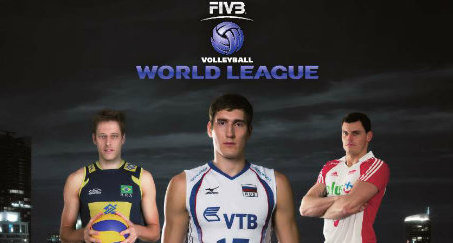 2013 fivb world league poster