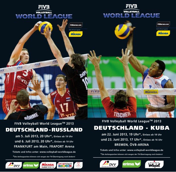 2013 fivb world league poster2 2013 FIVB World League