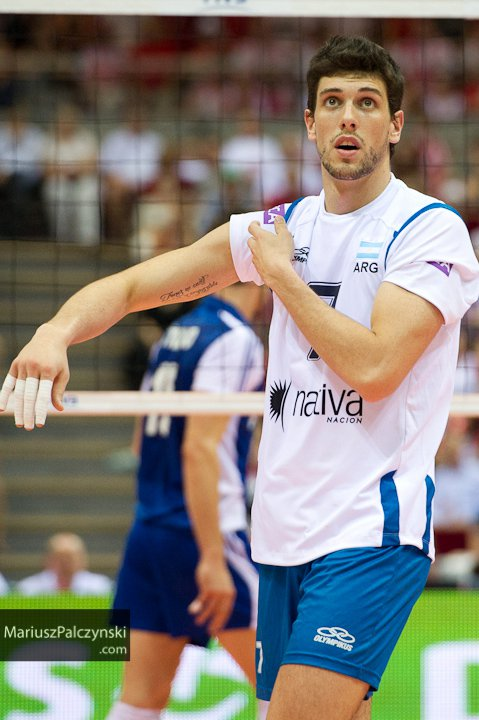facundo conte 2013 FIVB World League