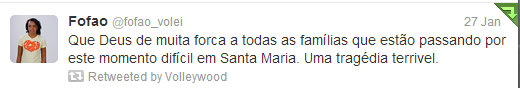 Fullscreen capture 1282013 104820 AM Players Tweet On Santa Maria Tragedy