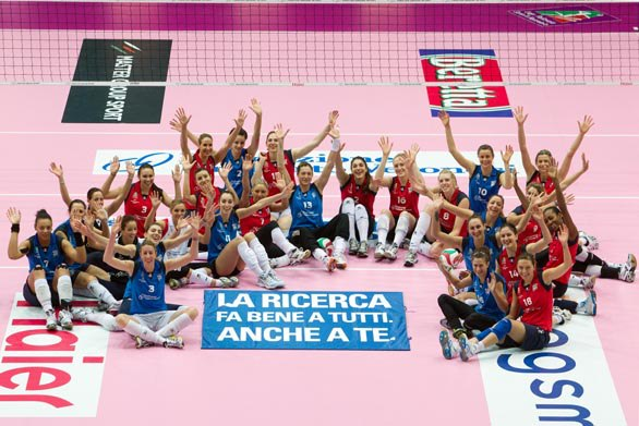 italy volleyball all star Faucettes Girl On Fire