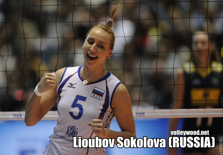 lioubov sokolova MVP The 2012 BEST Awards (F)
