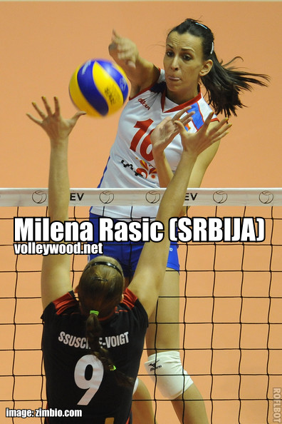 milena rasic MVP The 2012 BEST Awards (F)