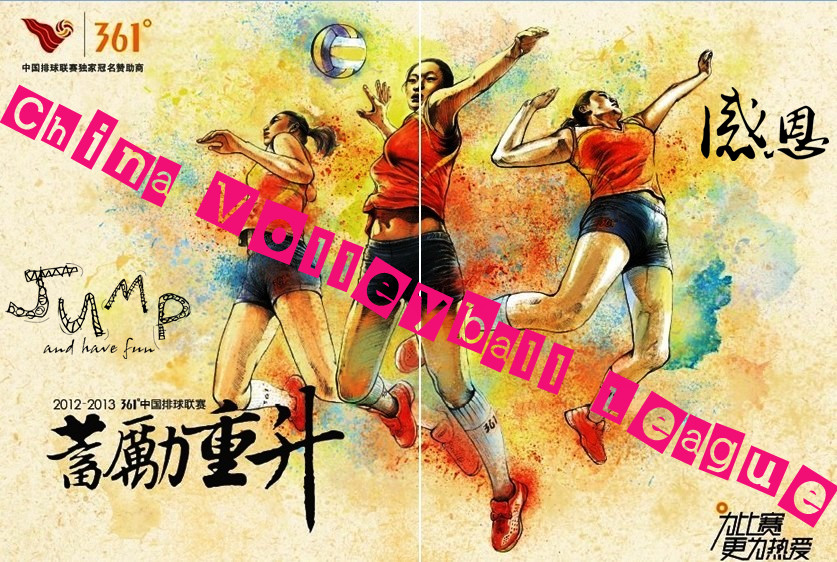 china volleyball league 2012/2013 Chinese League
