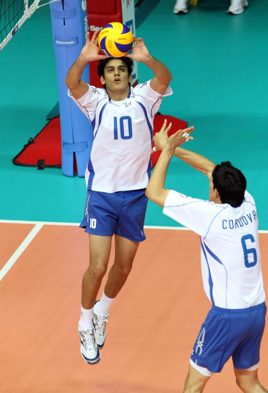 Pedro Rangel (volleyball) Pedro Rangel Hernandez Mexico Volleyball Setter Player