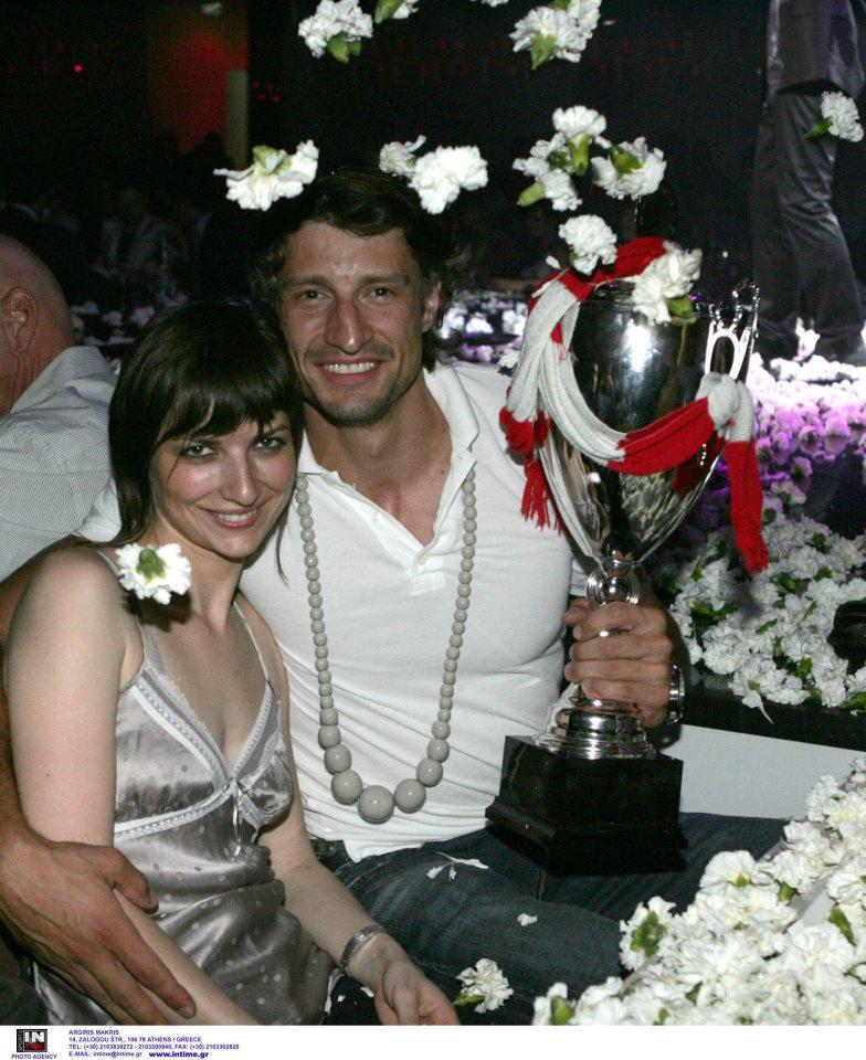 Serbia Fenerbahce Volleyball Player Ivan Miljkovic & Wife
