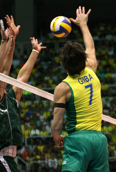 giba best volleyball player 3 Poland Honors Brazils Giba