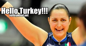 Italy's Carolina Costagrande.  (fivb.org)