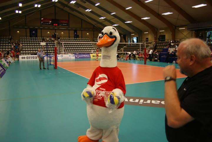 2013 CEV Mens European Championship Mascot