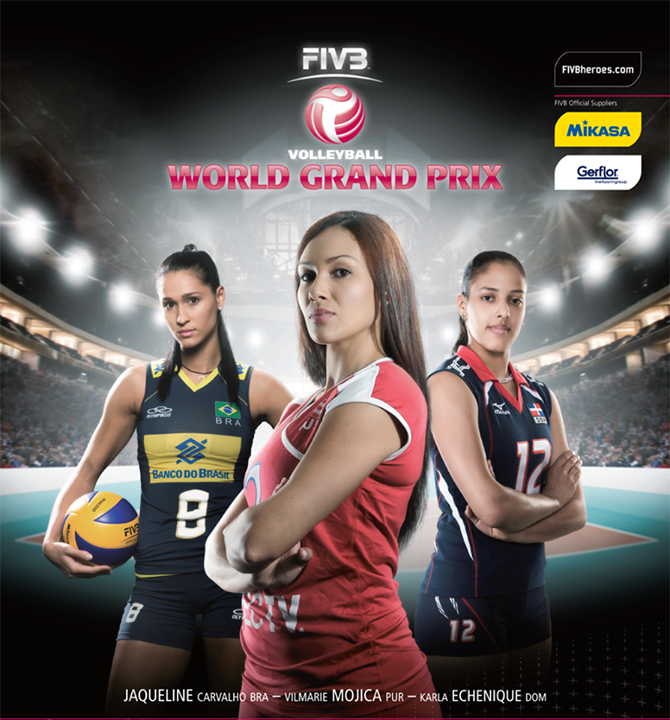 3 2013 FIVB World Grand Prix