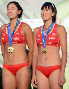 Chen Xue and Zhang Xi 3 232x300 2013 Beach Volleyball World Championships