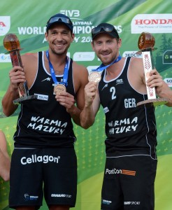 Jonathan Erdmann and Kay Matysik 246x300 2013 Beach Volleyball World Championships