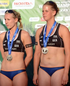 Karla Borger and Britta Buthe 242x300 2013 Beach Volleyball World Championships