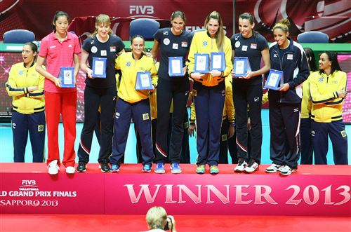 fivb grand prix best players 2013 FIVB World Grand Prix