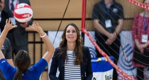duchess of cambridge kate middleton volleyball