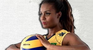 fabiana claudino mvp best middle blocker brazil volleyball