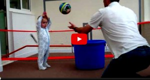 World's Best Baby Volleyball Player