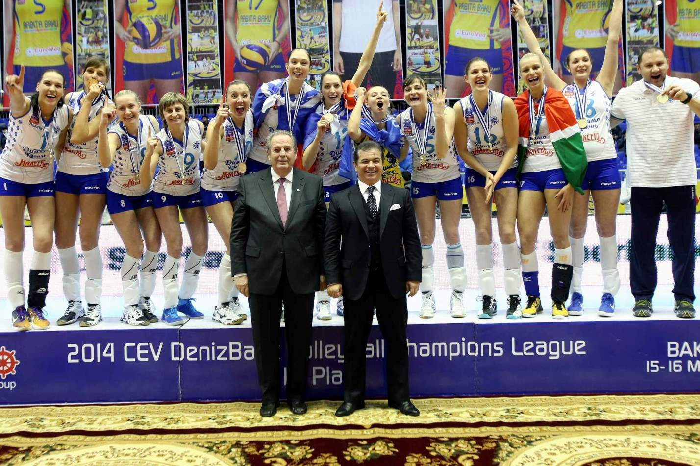 Cev Champions League Final 4 Mvp Ekaterina Gamova Volleywood